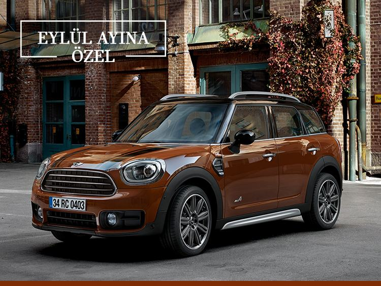 YENİ MINI COUNTRYMAN ALL4.